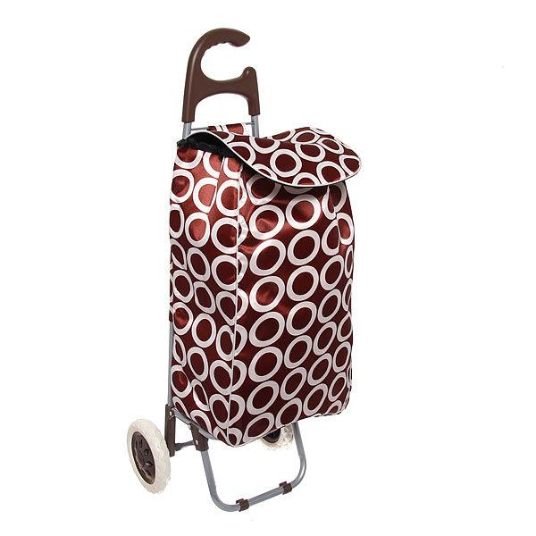 Тележка хозяйственная с сумкой ST-885FC (96*36*33см, колеса 16см,грузоподъемность до 30 кг.) купить оптом и в розницу
