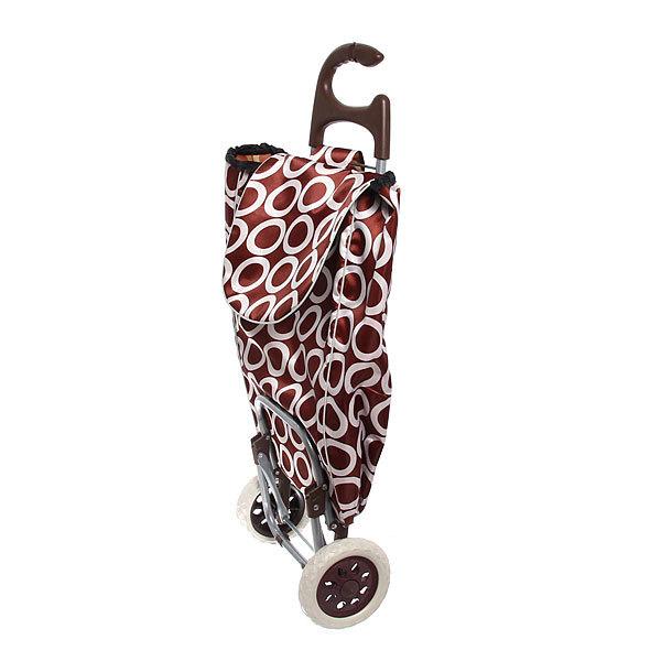 Тележка хозяйственная с сумкой (96*36*33см, колеса 16 см, грузоподъемность до 30 кг) кружки ST-885FC купить оптом и в розницу