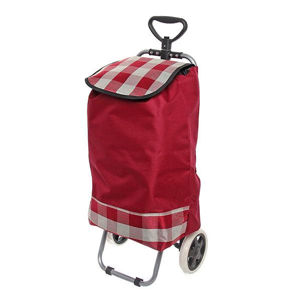 Тележка хозяйственная с сумкой ST-819 (96*36*33см, колеса 16см,грузоподъемность до 30 кг.) купить оптом и в розницу