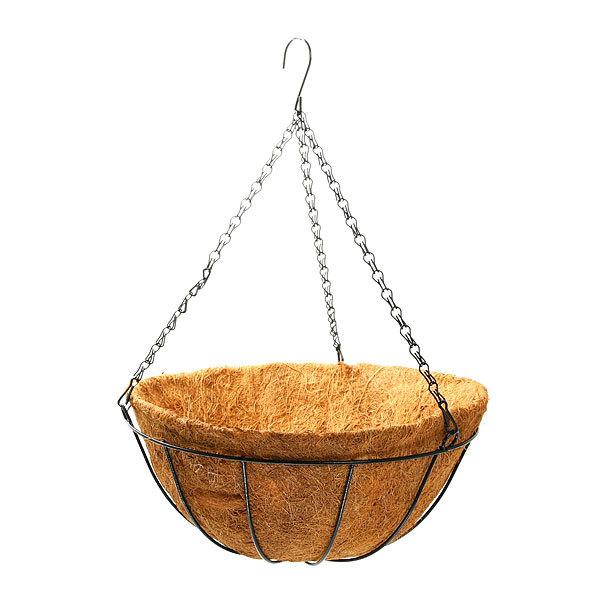 Кашпо-Коковита для цветов ″Ультрамарин″ подвесное d 35см купить оптом и в розницу