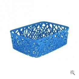 Корзинка прямоуг. NEO COLORS голубой/*6 шт (37,7х29х12,7)см Curver купить оптом и в розницу