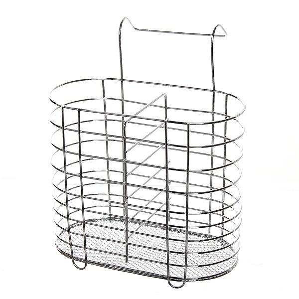 Сушилка для столовых приборов 16*15см металлическая навесная купить оптом и в розницу