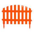 Забор декоративный новый 3м. (оранж.) (Р) купить оптом и в розницу