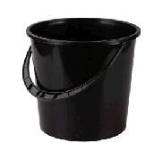 Ведро 5л. (2 сорт)(чёрный)(уп.10) (Октябрьский) купить оптом и в розницу