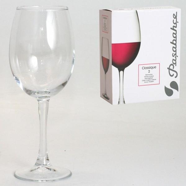 Набор бокалов д/вина КЛАССИК 2шт 445мл (1/8) купить оптом и в розницу