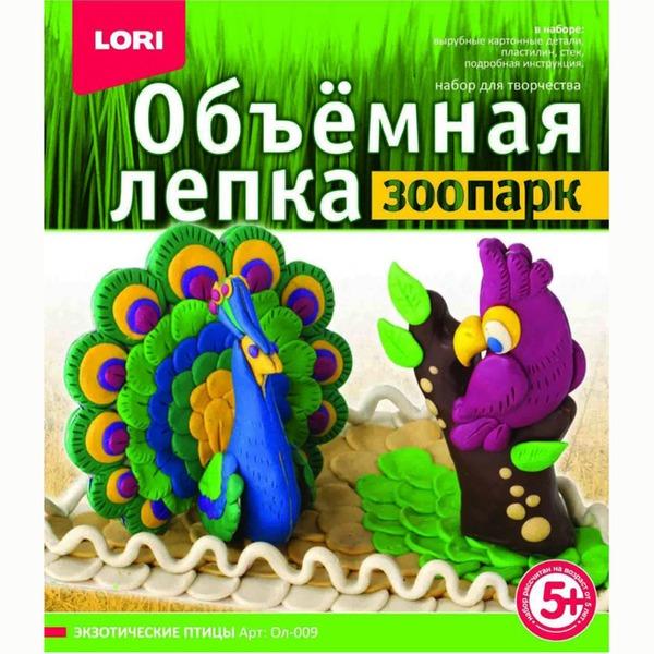 Набор ДТ Лепка объемная.Зоопарк Экзотические птицы Ол-009 Lori купить оптом и в розницу