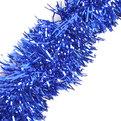 Мишура новогодняя 2 метра 5см ″Зимняя ночь″ синий купить оптом и в розницу