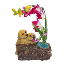 Копилка 2239-A собака c цветы купить оптом и в розницу