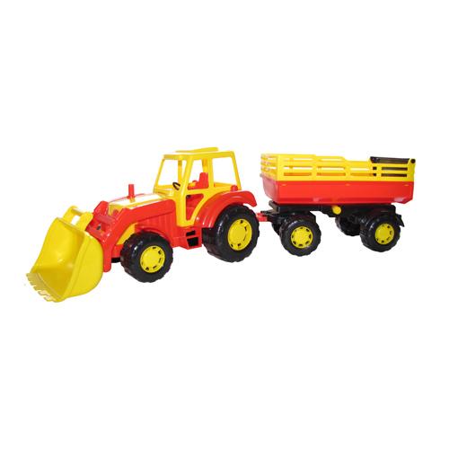 Трактор Мастер с прицепом с ковшом №2 35288 П-Е /6/ купить оптом и в розницу