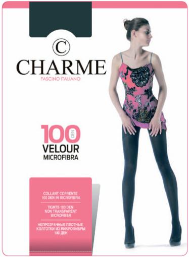 Колготки женские Velour CHARME 100 nero 1/2 S (черный) купить оптом и в розницу