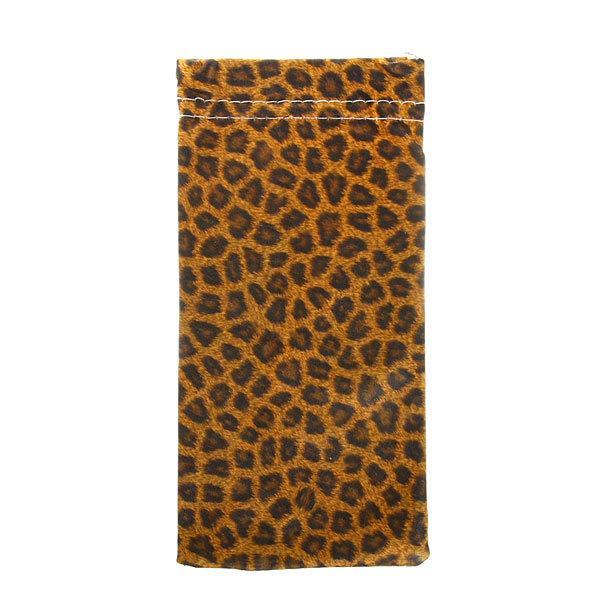 Чехол для солнцезащитных очков ″Леопардовый принт″ 18*9 купить оптом и в розницу