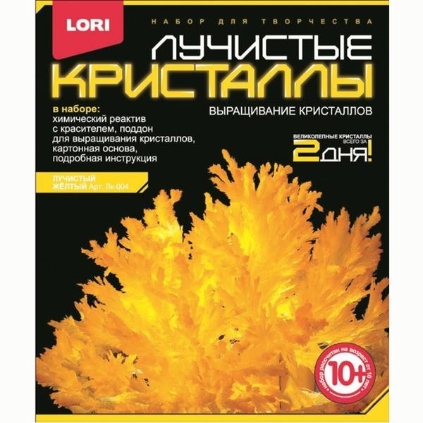 Набор ДТ Лучистые кристаллы Желтый кристалл Лк-004 Lori купить оптом и в розницу