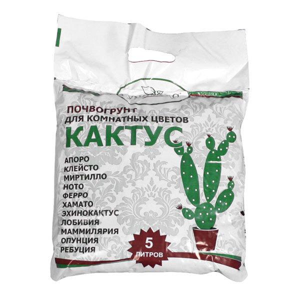 Почвогрунт для кактусов 5 л Гумимакс купить оптом и в розницу