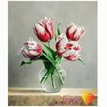 Набор ДТ Картина стразами Распускающиеся тюльпаны АЖ-1209 купить оптом и в розницу