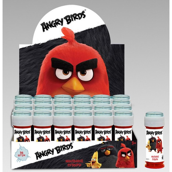 Мыл. пузыри Т58657 Angry Birds 50мл 1toy купить оптом и в розницу