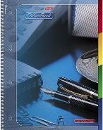 """Тетрадь А4 120л.кл.спираль HATBER, """"Office Book"""", тв.обложка,с разделителями,перфорация купить оптом и в розницу"""