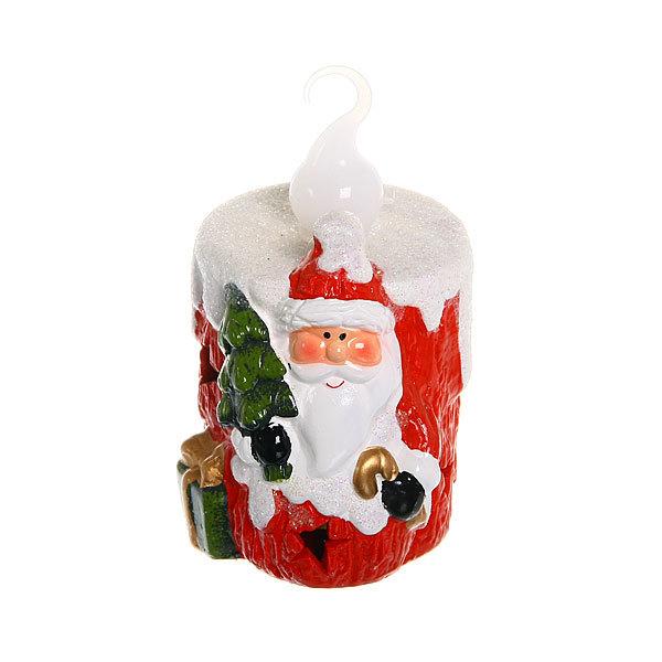 Фигурка с подсветкой ″Свеча Новогодняя Дед Мороз″ 10*7см купить оптом и в розницу