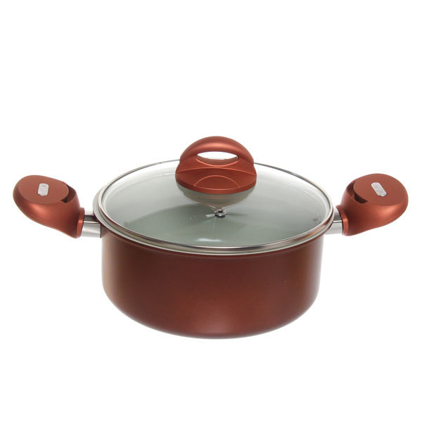 Набор посуды 5 предметов (кастрюля 2,5л 20см, сковорода 24см, сковорода 28см с керамическим покрытием) купить оптом и в розницу