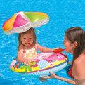 Круг для плавания с сиденьем от 1 года 112*64 см Intex (56583) купить оптом и в розницу