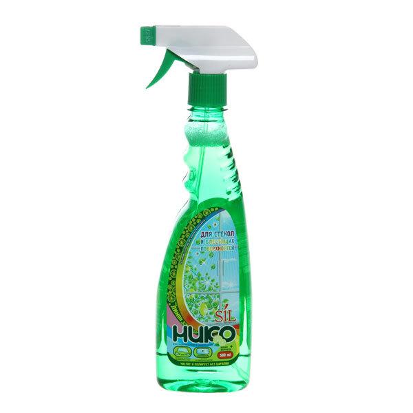 Средство для мытья стекол Алва Никосил Лимон с курком 500 мл. купить оптом и в розницу