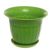 Горшок для цветов ЭКО Василек″ 12*16см SHY-4С зеленый купить оптом и в розницу