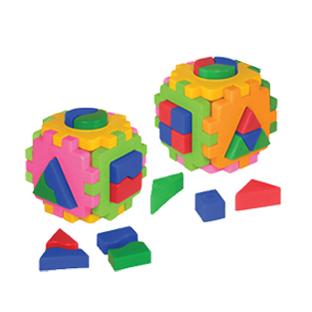 Логич.игрушка Куб умный малыш Комби 2476 /интелком/ купить оптом и в розницу