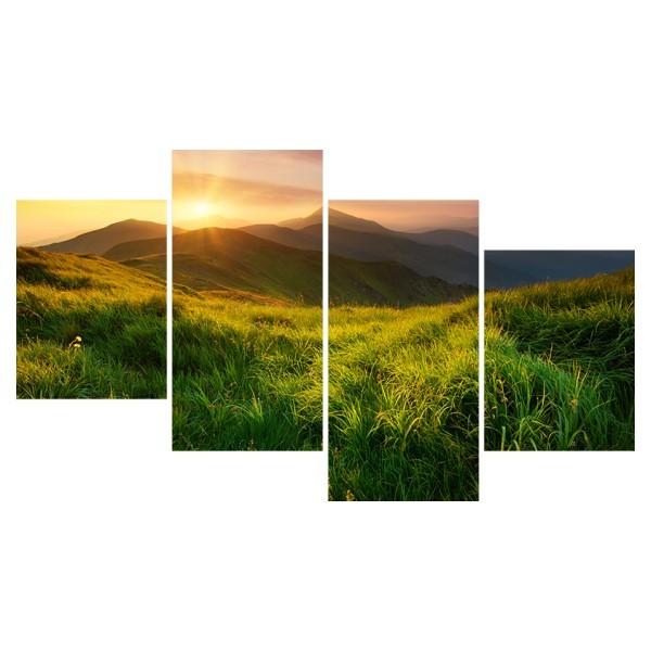 Картина модульная полиптих 60*129 Природа диз.24 71-03 купить оптом и в розницу