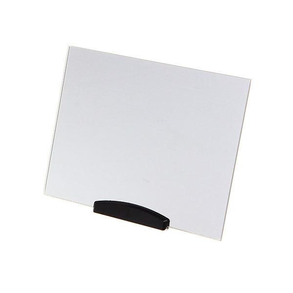 Зеркало настольное на подставке ″Практика - Прямоугольник″ без оправы 19*15см купить оптом и в розницу