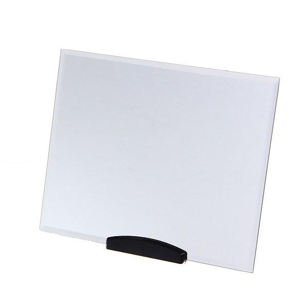 Зеркало настольное на подставке ″Практика - Прямоугольник″ без оправы 17,5*22см. купить оптом и в розницу