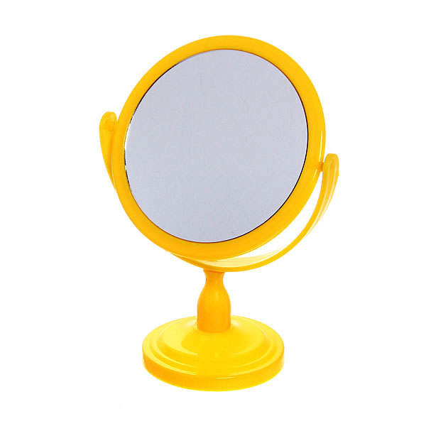 Зеркало настольное Круг 20,5*13 195-7 купить оптом и в розницу