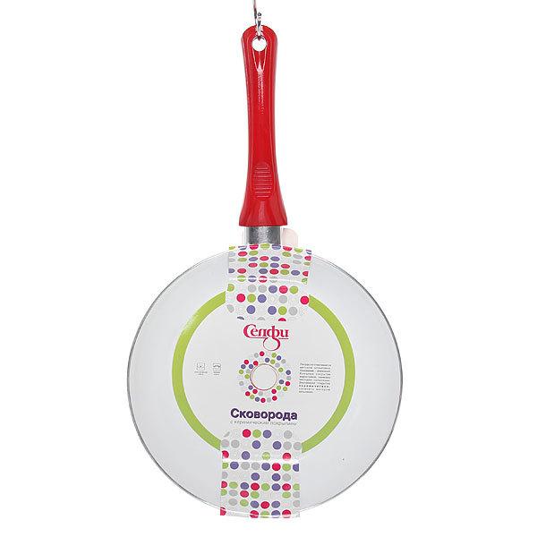 Сковорода ″Селфи-Ред″ d-24 см 2,5 мм с керамическим покрытием купить оптом и в розницу