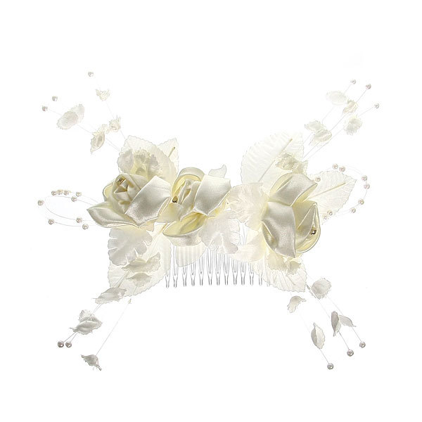 Гребень с цветком ″Королева″ 3024281 купить оптом и в розницу