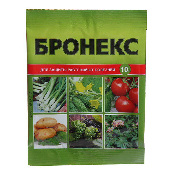 Биопрепарат для защиты растений от болезней 10гр ″Бронекс″ купить оптом и в розницу