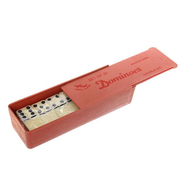 Игра настольная Домино 4807B пластиковая коробка купить оптом и в розницу