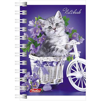 Записная книжка 40 л. А7 Нежные котята 043179 Hatber купить оптом и в розницу