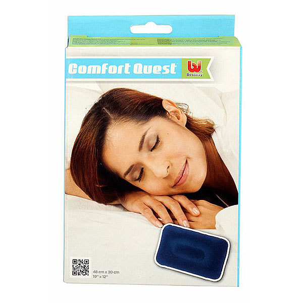 Подушка надувная Flocked Air,48*30 см,Bestway (67121) купить оптом и в розницу