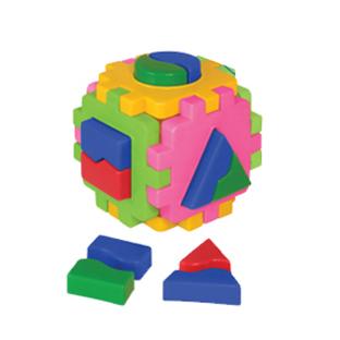 Логич.игрушка Куб умный малыш Логика №1 2452 /интелком/ купить оптом и в розницу