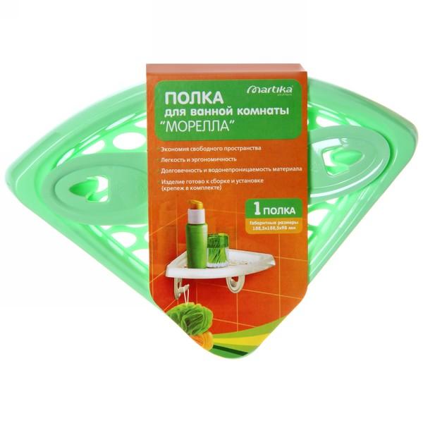 Полка для ванной комнаты ″Морелла″ (1 полка) С768 купить оптом и в розницу