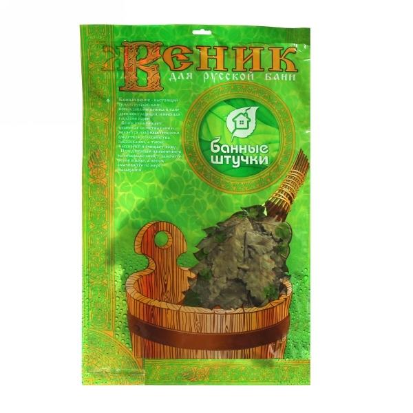 Веник дубовый с мятой в уп. 32020 купить оптом и в розницу