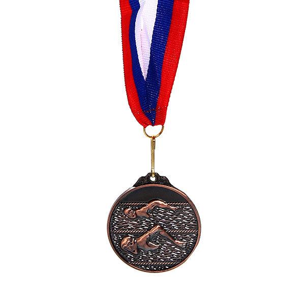 Медаль ″ Плавание ″- 3 место (4,5см) купить оптом и в розницу