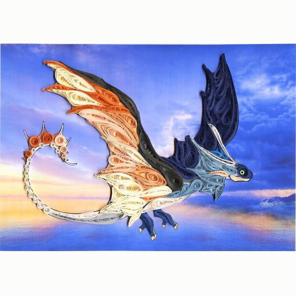 Набор ДТ Волшебный квиллинг Дракон ANK-11 купить оптом и в розницу
