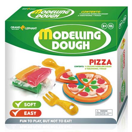 Набор ДТ Тесто для лепки Пицца 24032/OE-MD/4TM купить оптом и в розницу