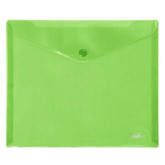 Папка-конверт А5 Зеленая 15104 Hatber купить оптом и в розницу
