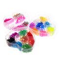 Набор резинок для плетения браслетов 2800шт 24 цвета 3-х ярусный Цветок купить оптом и в розницу