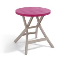 Стол Oregon Curver роз./беж. (BISTRO TABLE)-216865 купить оптом и в розницу