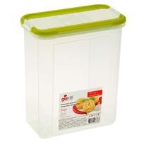 Банка для сыпучих продуктов с дозатором Krupa 1 л оливковый купить оптом и в розницу