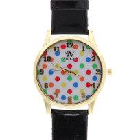 Часы наручные на ремешке ″Горох″, цвет микс купить оптом и в розницу