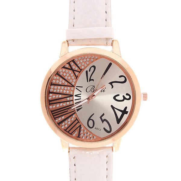 Часы наручные на ремешке ″Разные цифры″, цвет микс купить оптом и в розницу