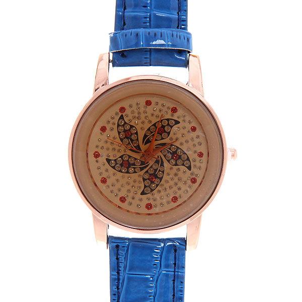 Часы наручные на ремешке ″Стразы″, цвет микс купить оптом и в розницу