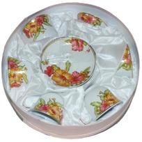 Набор чайный 12 предметов ″Мак″ (6 чашек, 6 блюдец) купить оптом и в розницу